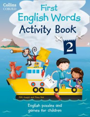 Collins First: First English Words Activity Book 2 by Various