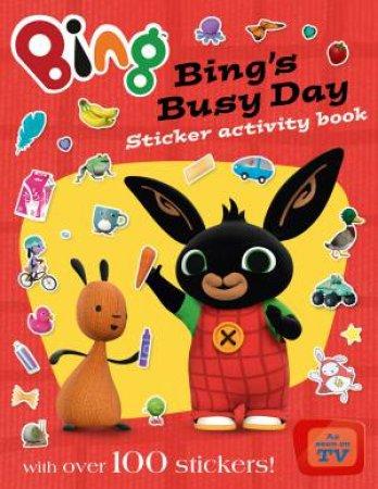 Bing Bunny: Bing's Busy Day Sticker Activity Book