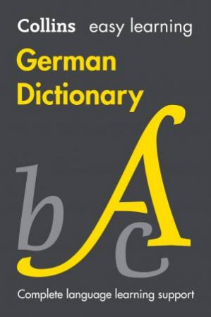 Collins Easy Learning German Dictionary [Eighth Edition] by Various
