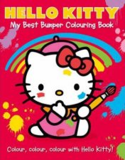 Hello Kitty My Best Bumper Colouring Book