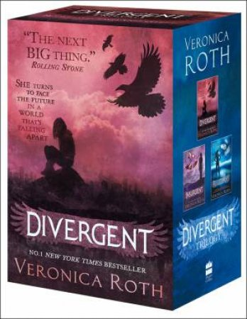 Divergent Trilogy Boxed Set (Books 1-3) by Veronica Roth