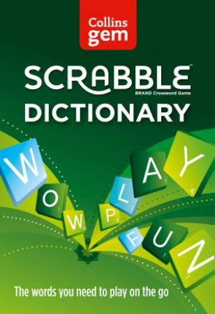 Collins Gem: Scrabble Dictionary - 3rd Ed. by Various