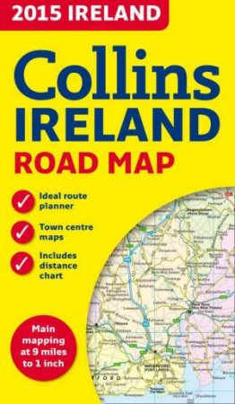 Collins Map of Ireland 2015 - New Ed.  by Various