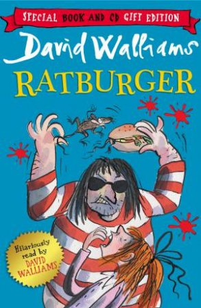 Ratburger [Unabridged Edition] 3CD by David Walliams