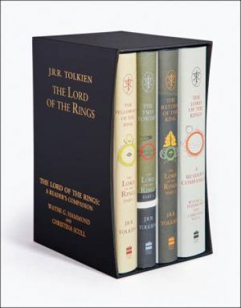 The Lord of the Rings Boxed Set [60th Anniversary Edition] by J R R Tolkien