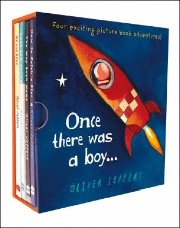 Once There Was A Boy... [Boxed Set] by Oliver Jeffers