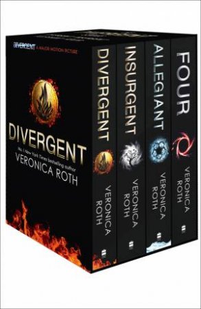 Divergent Series Box Set (Books 1-4, Plus World of Divergent)