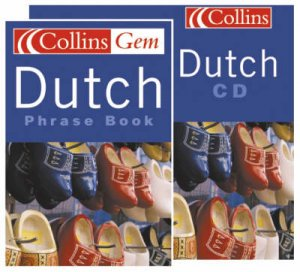 Collins Gem: Dutch Phrase Book - Book & CD by Various