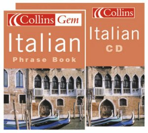 Collins Gem: Italian Phrase Book - Book & CD by Various