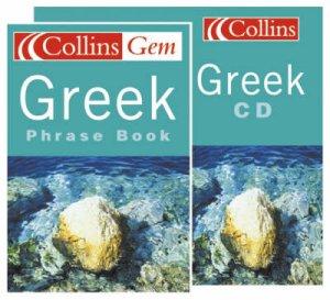 Collins Gem: Greek Phrase Book - Book & CD by Various