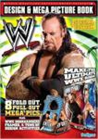 WWE Design and Mega Picture Book by Various