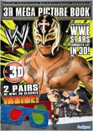 WWE 3D Mega Picture Book by Various