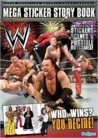 WWE Mega Sticker Storybook by Various