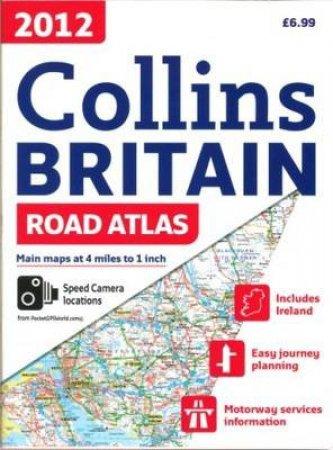 2012 Collins Britain Road Atlas by Various