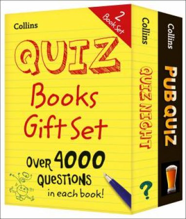 Collins Quiz 2 Gift Set by Various