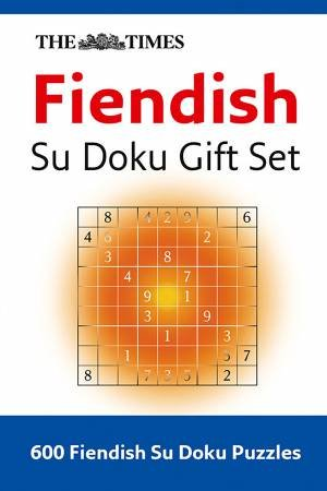 Collins Fiendish Su Doku 3 Gift Set by Various