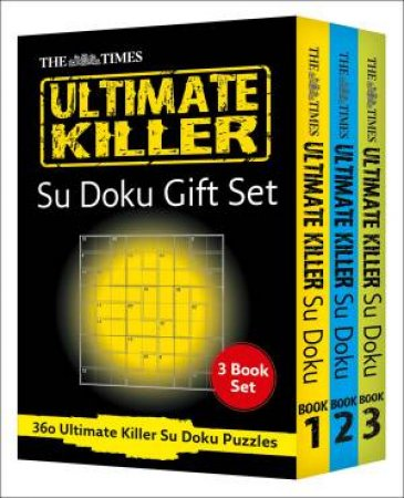 Collins Ultimate Killer Su Doku 3 Gift Set by Various