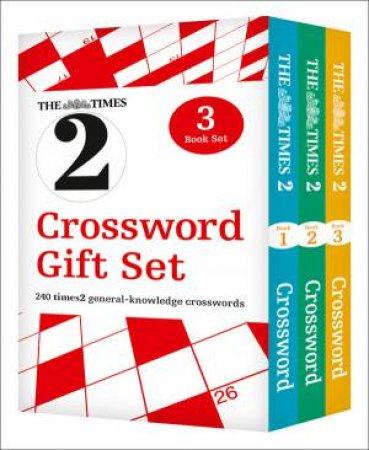 The Times T2 Crossword Gift Set by Various