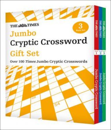 The Times Jumbo Cryptic Crossword Gift Set by Various