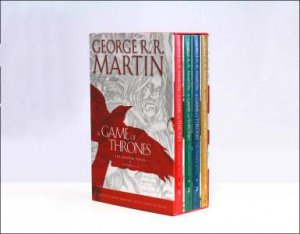 A Game of Thrones: The Graphic Novels Box Set, Volumes 1-4