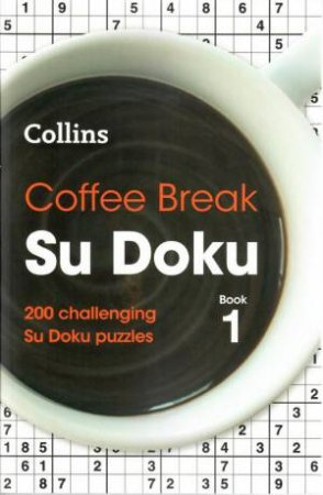 Collins Coffee Break Su Doku 1
