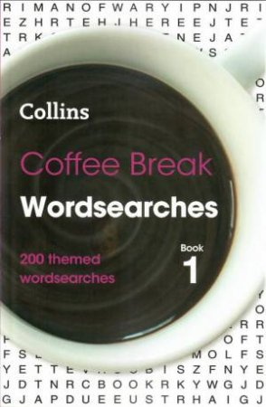 Collins Coffee Break Wordsearches 1 by Various