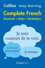 Collins Easy Learning Complete French Grammar, Verbs And Vocabulary - 2nd Ed. by Various