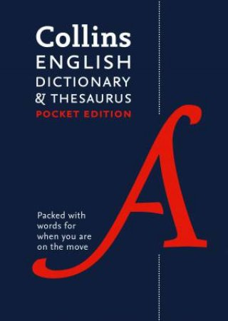 Collins English Dictionary And Thesaurus: Pocket Edition - 7th Ed.