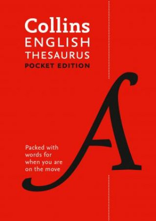 Collins Pocket English Thesaurus - 7th Ed.