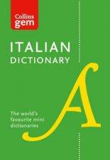 Collins Gem Italian Dictionary  10th Ed