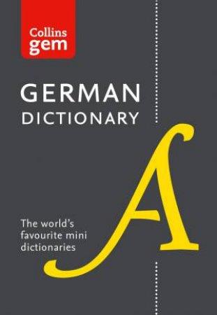 Collins Gem German Dictionary - 12th Ed