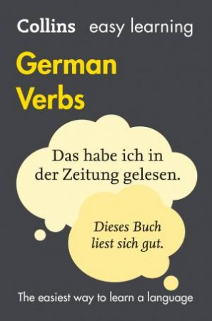 Collins Easy Learning German Verbs (4th Edition)