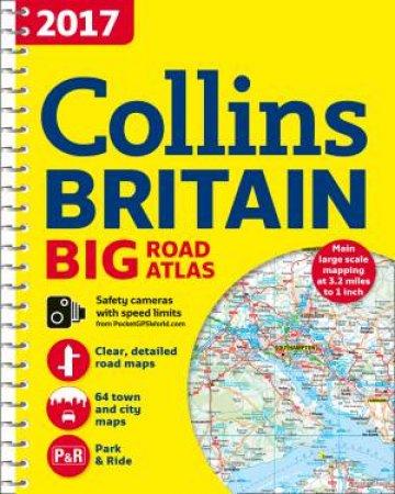 2017 Collins Big Road Atlas Britain [New Edition]
