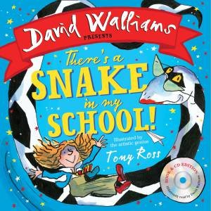 There's A Snake In My School! (Book & CD)