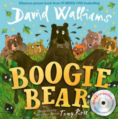 Boogie Bear [Book & CD Edition]
