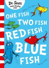 One Fish Two Fish Red Fish Blue Fish Blue Back Book Edition
