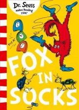 Fox In Socks Green Back Book Edition