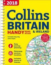 2018 Collins Handy Road Atlas Britain