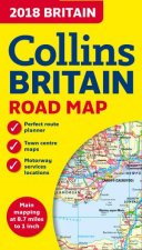 2018 Collins Map Of Britain