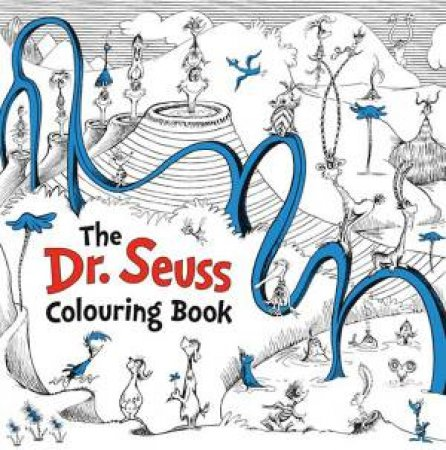 Dr Seuss Colouring Book by Dr Seuss - 9780008216597