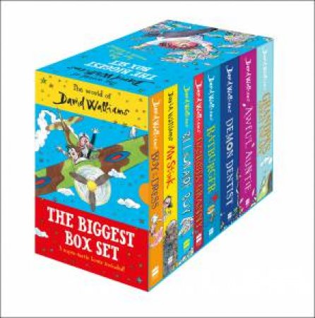 The World Of David Walliams: The Biggest Box Set [8 Box Set] by David Walliams