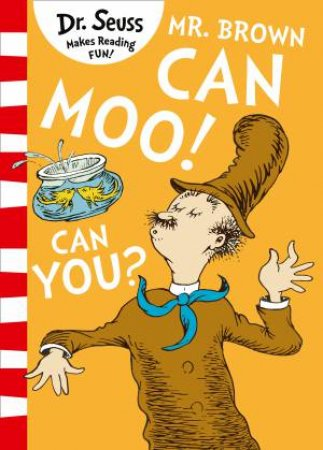 Mr. Brown Can Moo! Can You? [Blue Back Book Edition]