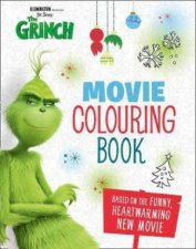 The Grinch Movie Colouring Book