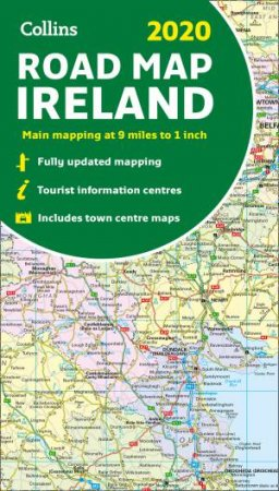 Full Map Of Ireland.2020 Collins Map Of Ireland New Edition By Collins Maps