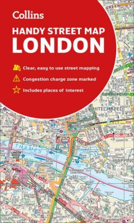Collins Handy Street Map London By Collins Maps 9780008320584