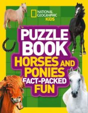 National Geographic Kids Puzzle Book Horses And Ponies FactPacked Fun