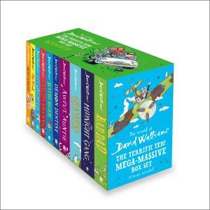 The Terrific Ten: Mega-Massive Box Set by David Walliams & Quentin Blake & Tony Ross
