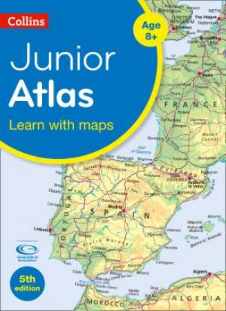 Collins Primary Atlases: Collins Junior Atlas (Fifth Edition) by Various