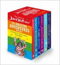 The World Of David Walliams The Amazing Adventures Box Set