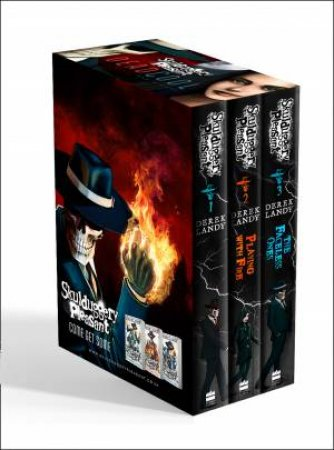 The Faceless Ones Trilogy: Skulduggery Pleasant, Playing with Fire, The Faceless Ones